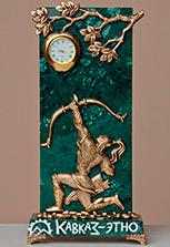 Бронзовые часы «Ахсар и золотое яблоко Нартов»