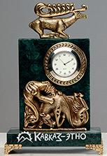 Часы бронзовые «Охота»