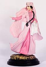 Скульптура  «Горянка в розовом»