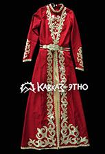 Чеченское национальное платье