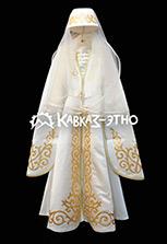 Национальное осетинское платье на девочку