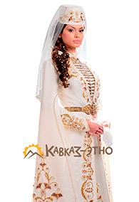 Осетинское свадебное платье