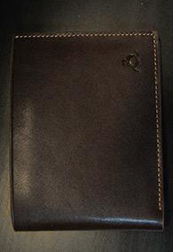 Кошелек (натуральная кожа) с ингушской символикой, коричневый