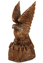 Скульптура  дерева «Орел»