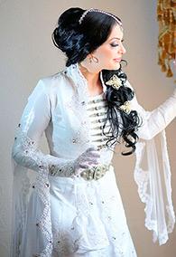 Ингушское свадебное платье от Зины Инаркиевой