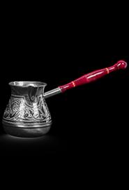 Серебряная турка на одну чашку купить в Москве, СПб, цена от производителя - «Кавказ-Этно»