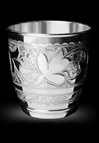 Серебряный стакан «Светлый»