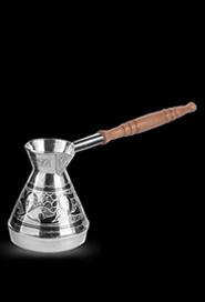 Серебряная турка малая купить в Москве, СПб, цена от производителя - «Кавказ-Этно»