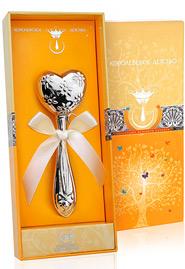 Погремушка из серебра «С любовью»