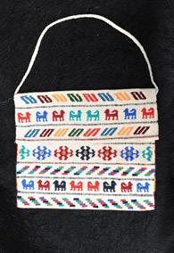 Кавказская сумка с этническими орнаментами