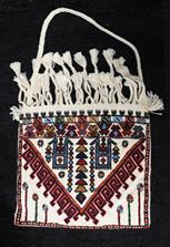 Плетеная этническая сумка