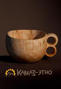 Кружка деревянная традиционная