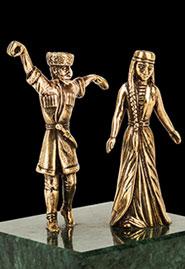 Скульптура «Лезгинка»