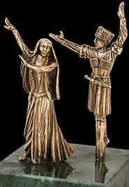 Скульптура «Унесенные танцем»