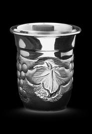 Стопка из серебра «Виноградная лоза»