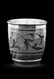 Серебряный стакан «Торжественный малый»