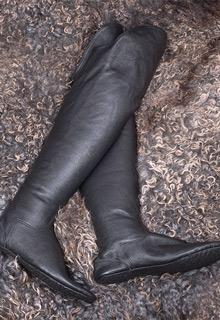 Ичиги, натуральная кожа