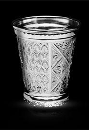 Cеребряный стакан «Орнамент» 999 пробы