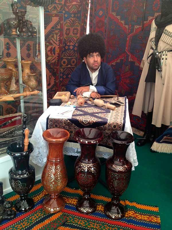 Кавказский шатер на ВВЦ