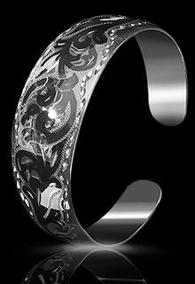 Браслет серебряный «Нежность»