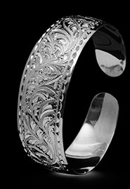 Браслет серебряный «Этнический»