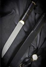 Нож абхазский большой