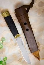 Карачаево-балкарский нож «Бичак Черный Орех»