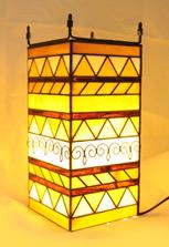 Лампа с витражом