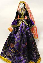 Кукла в азербайджанском костюме - большая