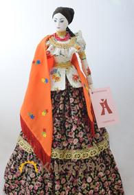 Кукла коллекционная в женском казачьем наряде