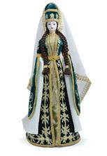 Подарочная кукла ручной работы в кабардинском платье