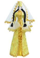 Кукла в ингушском национальном платье - малая