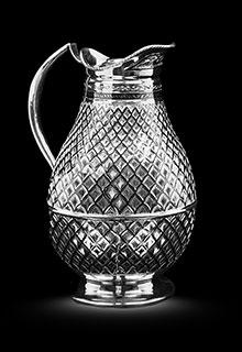 Кувшин серебряный «Резной»