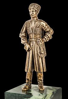 Скульптура «Казак»