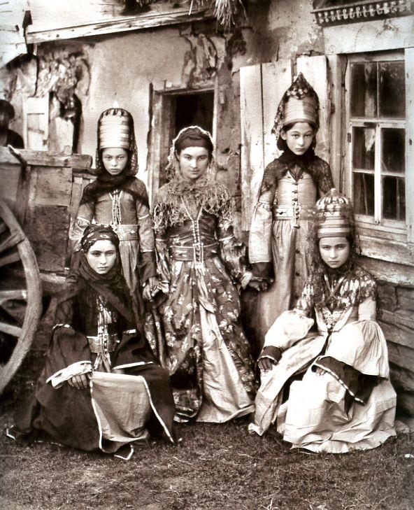 Кавказские женщины XIX века