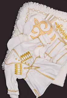 Детская черкеска для новорожденного (костюм на выписку)
