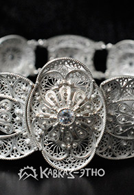 Пояс кавказский женский свадебный
