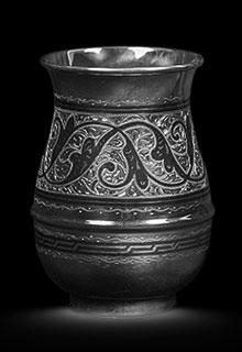 Серебряный стакан «Изящный»