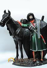 Скульптура «Адыгейский воин»