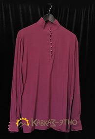 Кавказская рубашка малиновая
