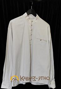 Кавказская рубашка бежевая