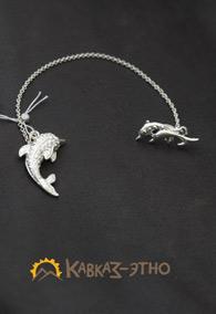 Серебряный ионизатор «Дельфин»