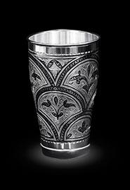 Серебряный стакан «Изысканный»