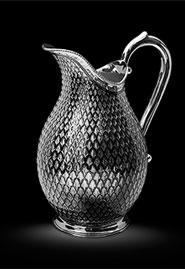 Кувшин из серебра «Царский»