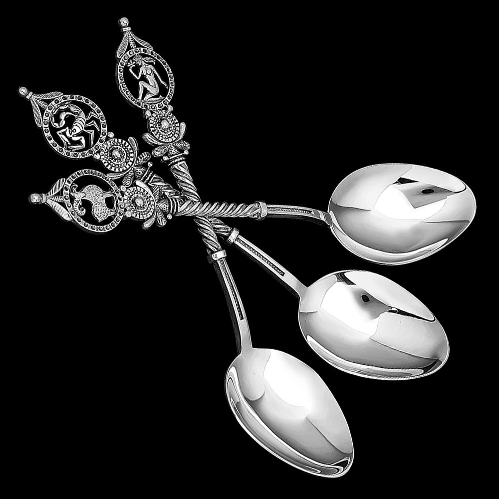 Серебряная ложка «Знак зодиака» (в ассортименте)