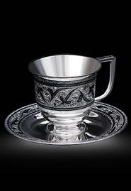 Кофейный набор из серебра
