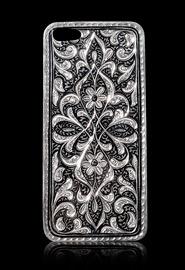 Панель для iPhone 5 из серебра