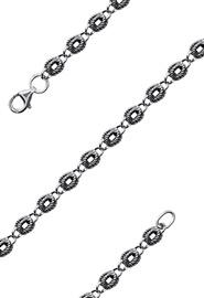Цепь серебряная «Затейная» 53 см