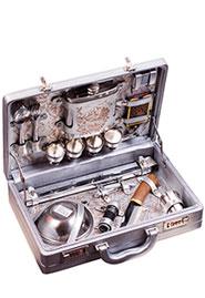 Набор для пикника «Стиль» в чемодане