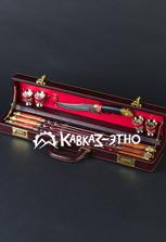 Шашлычный набор с дамасским ножом